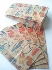 用途いろいろ角底紙袋キスミーSサイズ5枚