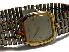 極レア 1スタ★クリスチャンディオール GOLD×GRAY 腕時計