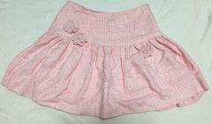 ディアマンテ☆ピンク薔薇コサージュスカート