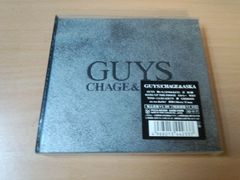 CHAGE&ASKA CD「GUYS」チャゲアス 飛鳥涼 初回盤●