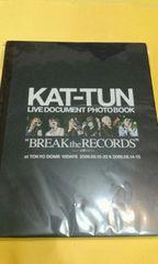 KAT-TUNライブドキュメント フォト ブック