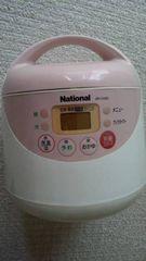 ナショナル 電子ジャー 炊飯器 SR-CH05