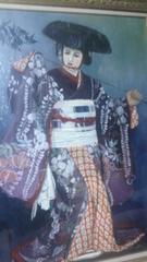 歌舞伎絵(藤娘)