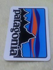 patagonia パタゴニア ロゴステッカー MW 旧ロゴ