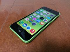 即落/即発!!美中古品 iPhone 5c 32GB グリーン 完済