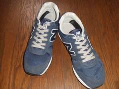 人気!ニューバランスm340newbalance28センチus10スニーカー靴紺navy