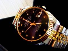 新作希少◆ゴールドMIXロレックスデイトナTYPE 高級Club face腕時計
