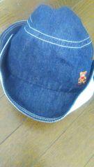 ミキハウスoriginal デニム帽