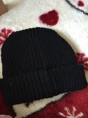 美品☆黒☆ブラック☆ニット帽