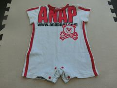 ★USED ANAPキッズロンパース 80�p★