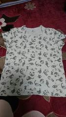 5L(ФωФ)Tシャツ☆グレー杢