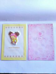 ポストカード メッセージ カード 韓国 2枚セット