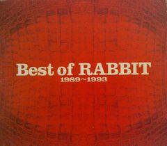 RABBIT ���r�b�g�FBest of RABBIT 1989�`1993��x�X�g�Ձ��C�J�V