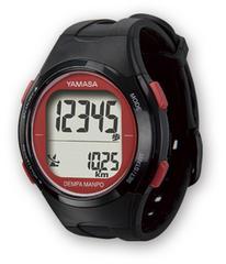 ウォッチ万歩計 DEMPA MANPO TM-500 ブラック (腕時計型歩数計)