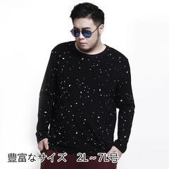メンズ クルーネック Tシャツ 水玉 プリンス カッコいい CXT01