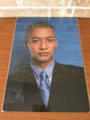 """★SMAP 1997 """"ス"""" 下敷き 香取慎吾 新品・未開封"""