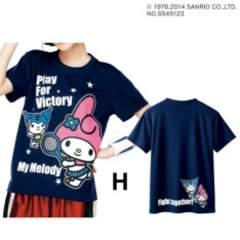 Mサイズ!2千円品物!新品!マイメロディ半袖!吸汗速乾Tシャツ