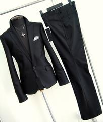 148■新品Lトルネードマート セットアップスーツ黒ブーツカット