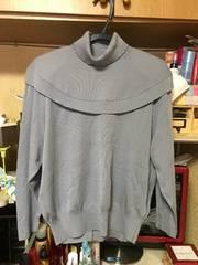グレータートルネックセーター新品未使用。サイズL