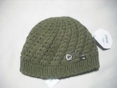 wb645 ROXY ロキシー アクセサリー付き ニット帽