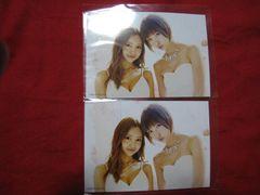 限定AKB48 2枚セット 公式生写真 篠田麻里子 板野友美 非売品