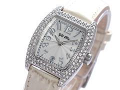 送料無料!フォリフォリ FOLLI FOLLIE 腕時計 S922ZI SV/IV