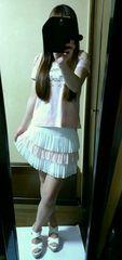 セシルリンク 定価12600円 新品 おリボンスカート