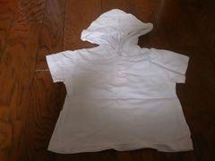 80 アカチャン本舗 白 パーカーTシャツ