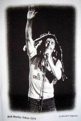 BOB MARLEY 1979年 日本公演 フォト Tシャツ レア