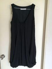 ザラベーシック!黒シフォンサマードレス!美品