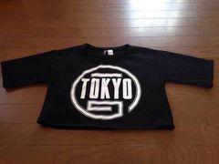 黒ダンス半袖シャツ  Sサイズ