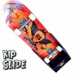 送料無料!入門・初心者用のスケートボード RIP SLIDE 31 RD/BK