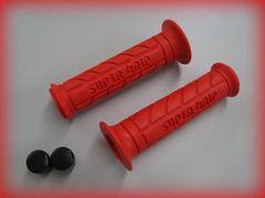 スーパーグリップ (レッド) NS-/ シャリー/ダックス/ズーマー [送料\205]