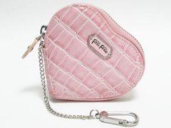 Folli Follie フォリフォリ コインケース ハート型 ピンク
