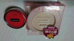 レブロン☆スキンライトプレストパウダーとチークのセット☆