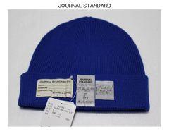 ジャーナルスタンダード*journal standardビーニーキャップ*ニット帽新品