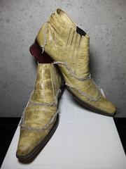 トルネードマート〓ショートブーツ靴〓オリーブ/M〓TORNADO MART