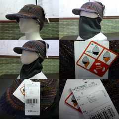 送料込(OR)フェニックス 3way 防寒帽 ネックウォーマー付 378hw21