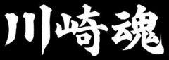 (文字変更自由) 川崎魂 15センチ  2枚組