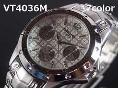 【送料無料】日本製ムーブメVITAROSOメンズ腕時計S/W