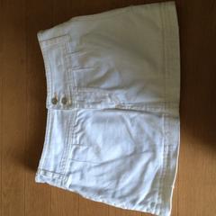 ソードフィッシュ ホワイトデニムミニスカート