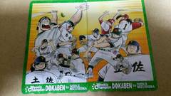 水島新司●ドカベン★テレカ2枚セット■少年チャンピオン全員サービス