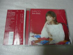 MACO '16年盤■love letter 全12曲 通常盤