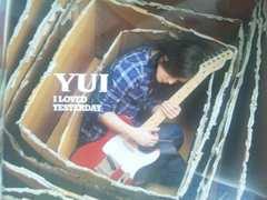 CDI LOVED YESTERDAY 初回生産限定盤CD+DVD/YUI送料込み