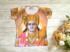 新品 エスニック インド 女神 Tシャツ S ヒンドゥー教