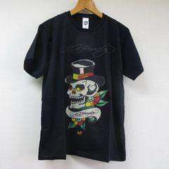 エドハーディー Tシャツ BK L