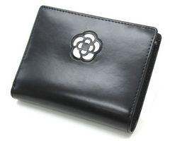 CLATHAS クレイサス 二つ折り財布 カメリアショートウォレット40