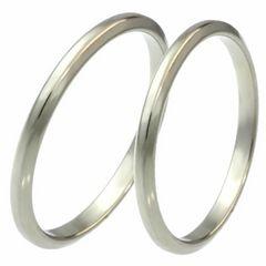 指輪2本記念日刻印「天使の輪」アンジェリークペアリング