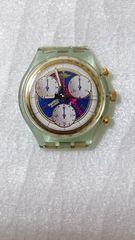 腕時計スウォッチ/Swatch  クロノグラフ★本体ジャンク品