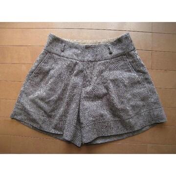 モバオクで買える「美品★pour la frime キュロットスカート♪Sサイズ」の画像です。価格は160円になります。